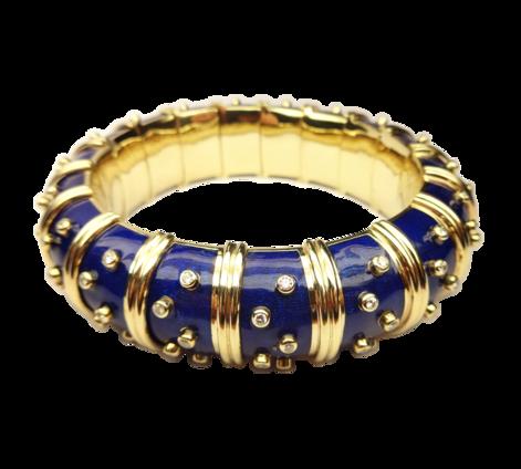 Эксклюзивный золотой браслет с бриллиантами, артикул 73250 - Baskrin